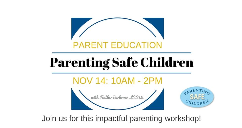 Parenting Safe Banner
