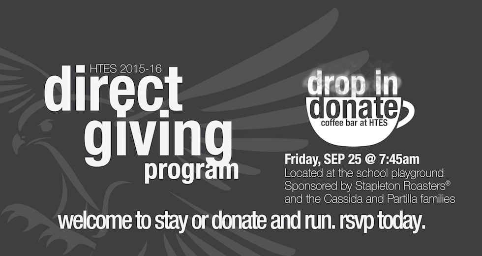 Direct Giving Drop In and Donate