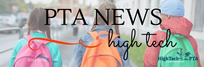 High Tech PTA Newsletter