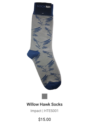willow socks